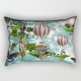 Balloon House Rectangular Pillow