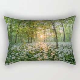 Bear's Garlic Forest Rectangular Pillow