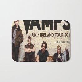 The Vamps tour 2017 Bath Mat