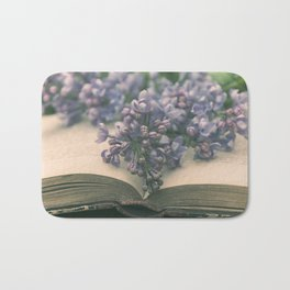 Book of LOVE - Lilacs Syringa Bath Mat