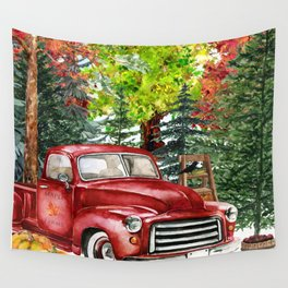 Maple Farms Wall Tapestry