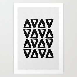 Black and White Abstract II Art Print