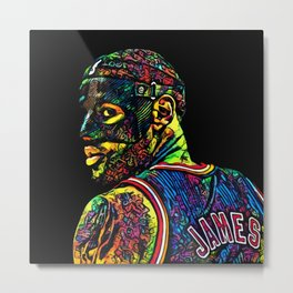 Watch the Throne Metal Print