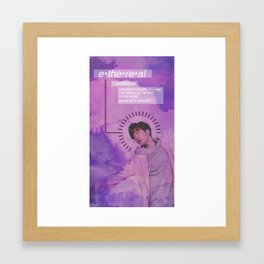 Ethereal - Youngjae Version Framed Art Print