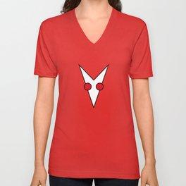 Logo d'Albin et les albinos Unisex V-Neck