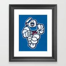 Marshmelin Man Framed Art Print