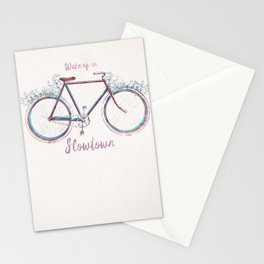 Going too fast Stationery Cards
