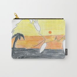 Kiss by Letizia Sasso Carry-All Pouch