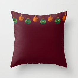 Christmas - The Best Time Of The Year Throw Pillow