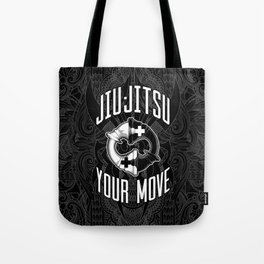 Brazilian Jiu-jitsu Chess Kings Tote Bag