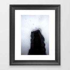 Snow 8 Framed Art Print