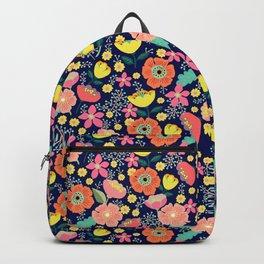 Night wild flowers Backpack