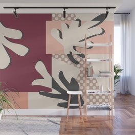 Finding Matisse pt.2 #society6 #abstract #art Wall Mural