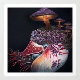 Hadal Borealis Art Print