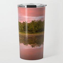 Pink Twilight Marsh Travel Mug