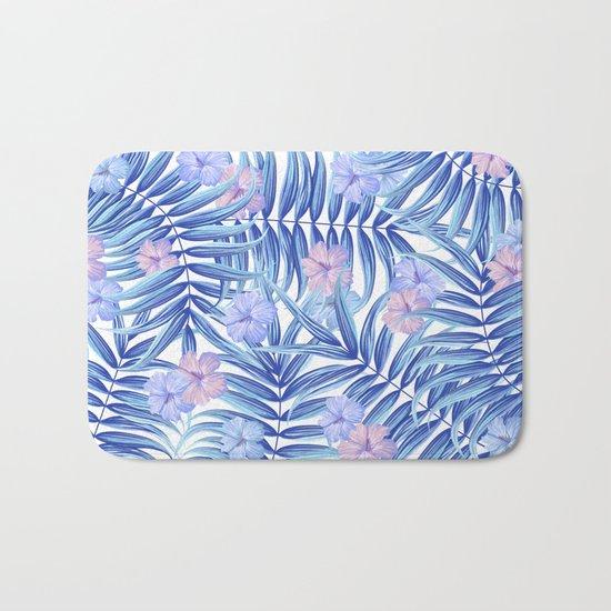 Hawaiian Pattern Bath Mat