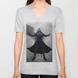 Sephiroth - One Winged Angel Unisex V-Neck
