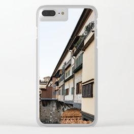 Ponte Vecchio Clear iPhone Case