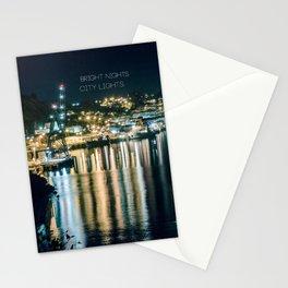 Bright Nights, City Lights Stationery Cards