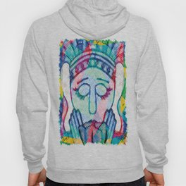 Kissed Tulips Logo Face Hoody