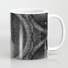 Black and white music speakers Coffee Mug