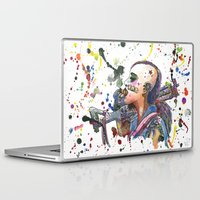 tank girl Laptop & iPad Skins featuring Tank Girl by Abominable Ink by Fazooli