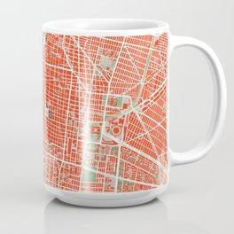 Mexico city map classic Coffee Mug