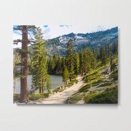 Angora Lakes, Lake Tahoe Metal Print