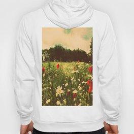 Poppies In Pilling  Hoody