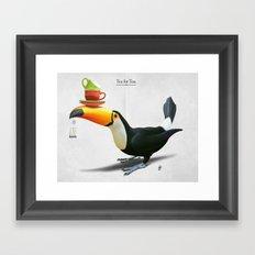 Tea for Tou Framed Art Print
