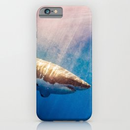 Great White Shark-1 iPhone Case