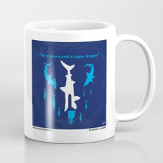 No216 My Sharknado minimal movie poster Mug