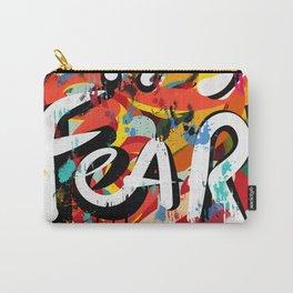 Fear is: Street Art Graffiti Writing Urban Fashion Carry-All Pouch