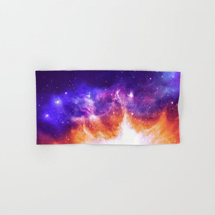 Stars & Flames Hand & Bath Towel