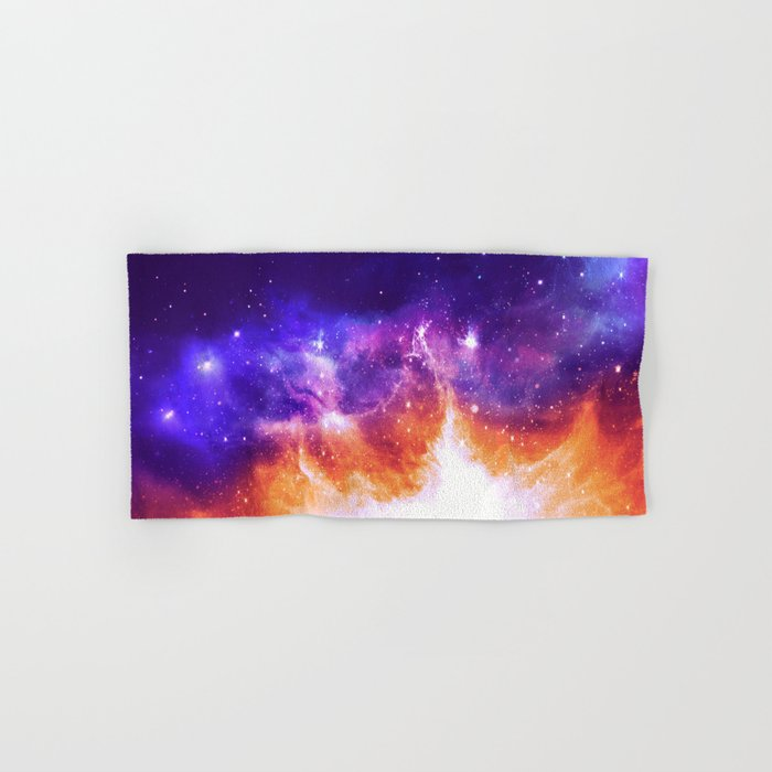 Stars & Flames Hand & Bath Towel
