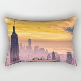 New York . Rectangular Pillow