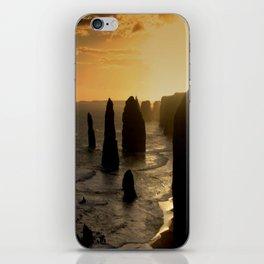 Sunset over the Twelve Apostles iPhone Skin