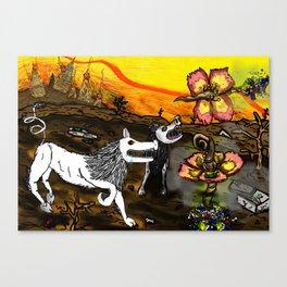 "Original work:""Malaysia's Future"" Canvas Print"