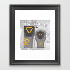 Oblivion Suit Tech 52 Framed Art Print
