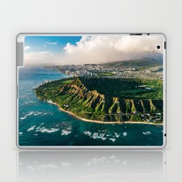 Diamond Head Aerial Panoramic Laptop & iPad Skin