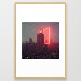 GATE SIX (everyday 07.09.18) Framed Art Print
