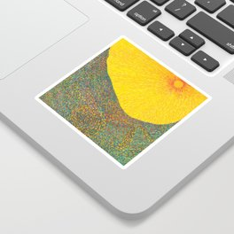 Here Comes the Sun - Van Gogh impressionist abstract Sticker