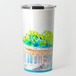 parque del retiro. Madrid Travel Mug