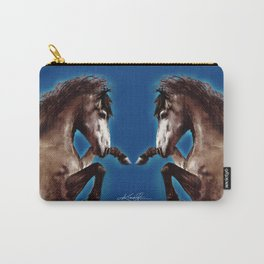 Prancing Horse by Kathy Morton Stanion Carry-All Pouch