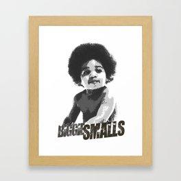 Biggie Smalls Framed Art Print