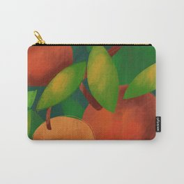 Tangerine Love Carry-All Pouch