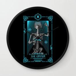The Gamer X Tarot Card Wall Clock