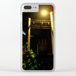 POLES Clear iPhone Case