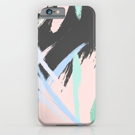 Expression stroke iPhone Case