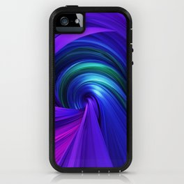 Twisting Forms #6 iPhone Case